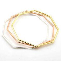 Octagonal Bangles