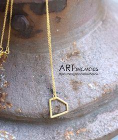 Diamond charm pendant - ARTonomous // Style // Design