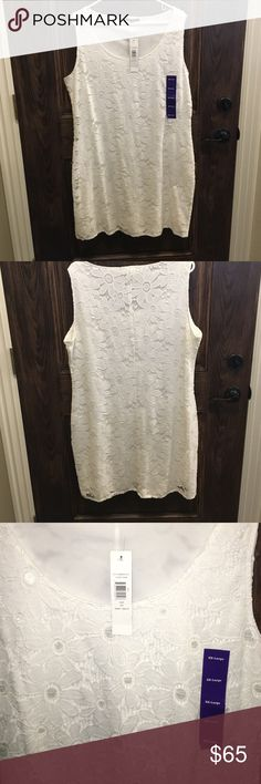 NWT: White Daisy Sundress new with tags and never been worn! COMES WITH FREE SURPRISE GIFT!!!!!! Tiana B. Dresses