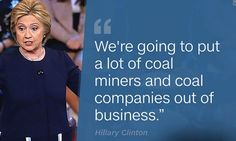 Hillary Clinton Will Harm Ohio's Energy Sector...She will harm all energy sectors. ~ TRUMP 2016 ~ RADICAL Rational Americans Defending Individual Choice And Liberty