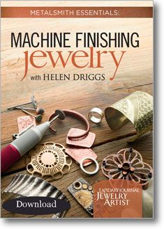 instant download--how to machine-finish your jewelry for a professional look... Plus 30% of proceeds of everything in the JMD shop go to National Breast Cancer Foundation through Oct. 5, 2012.