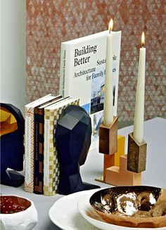 Gestalten   12 Very Special Interior Design Items Styled by Mara Chevalier- Fall 2015 New Interior Design, Decorative Objects, Over The Years, Indoor, Candles, Fall 2015, Architecture, Bookends, Nest