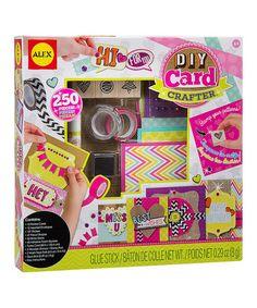 Look at this #zulilyfind! DIY Card Crafter Set #zulilyfinds