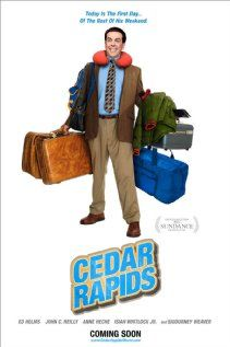 Cedar Rapids - directed by Miguel Arteta.  Sweet and awkward, but falls short of a couple of other movies Arteta directed that I really like (namely The Good Girl and Chuck & Buck, plus some terrific episodes of a few shows I love).  I have kind of a soft spot for Ed Helms when he pulls out this kind of endearing idiot performance, and John C. Reilly was fun.  I truly did not recognize crazy Anne Heche at all, so kudos to her for that as well, I guess.