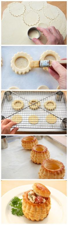 Volauvant pastries