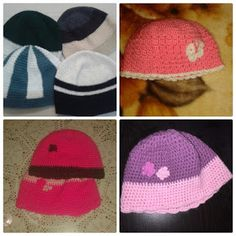 plektodimiourgies: Σκουφάκια Crochet Hats, Beanie, Blog, Knitting Hats, Beanies, Beret