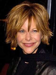 Famous Celebrity Haircuts - Good Housekeeping. To cut this use popular Meg Ryan style using the Marc Young Opus system use Opus 1 5 7 8.
