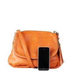 c74702d53511 Ponúkame výber kabeliek z pravej kože ANGELA v medovohnedej farbe