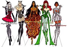 'Halloween Masquerade' collection by Hayden Williams