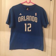 Authentic Adidas/NBA Howard Shirt Dwight Howard #12 Orlando Magic Authentic NBA/Adidas T-shirt. Perfect for those collectors and/or Magic Fans/ Howard Fans. It in great condition! Adidas Tops