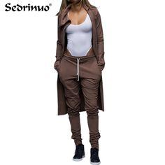2 piece set women 2016 new runway spring autumn fashion star long sleeve crop top and pant set Women clubwear work wear casual