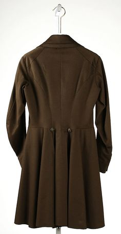 Coat    Date:      1830s  Culture:      American or European  Medium:      [no medium available]  Dimensions:      [no dimensions available]  Credit Line:      Gift of Lee Simonson, 1938  Accession Number:      C.I.38.23.40