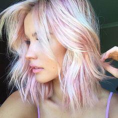 #newtrend #hair #holographichair