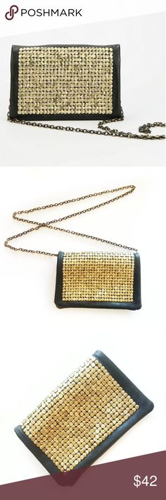 URBAN OUTFITTERS Deena & Ozzy Chain Crossbody Bag NWOT Purchased at Urban Outfitters Hammered Crossbody Bag Brown color with gold hammered front Really beautiful...looks super expensive Very on trend for fall Urban Outfitters Bags Crossbody Bags