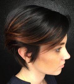 42 Ideas Balayage Pixie Hairstyle