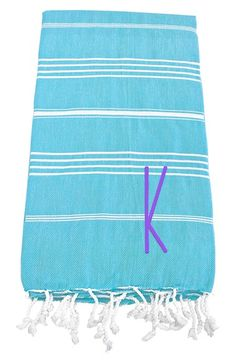 CATHY'S CONCEPTS Personalized Turkish Cotton Towel available at #Nordstrom Sale: $24.90 After Sale: $38.00 	Item #1097902