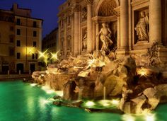 Trevi Fountain in Rome Italy Feature: Beautiful Water Fountains From Around the World - International Bellhop Travel Magazine