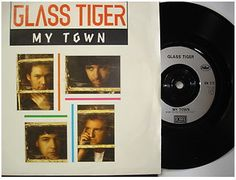 At £4.20  http://www.ebay.co.uk/itm/Glass-Tiger-My-Town-EMI-Records-7-Single-EM-212-1991-/251151467969