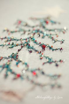 """Christmas Tree (from the book """"Stitch by Penny Black"""")"""