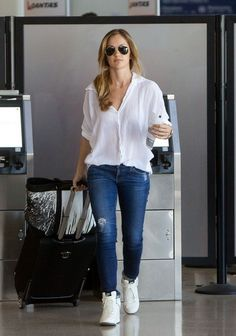 Minka Kelly - Minka Kelly Leaves LA