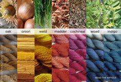 Natural dye.