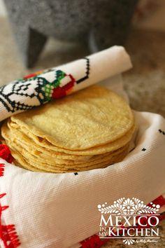 How to make homemade corn tortillas