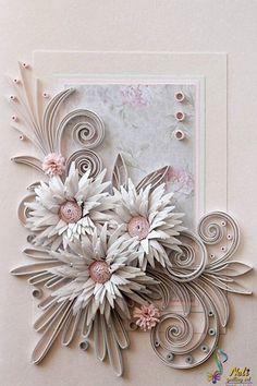 Neli Beneva - Quilling card /14.8 cm- 10.5 cm/