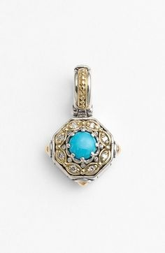Konstantino 'Hermione' Stone & Diamond Pendant available at #Nordstrom