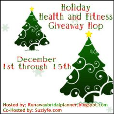I love Runaway Bridal Planner's health and fitness blogger giveaway blog hops. Now, she is hosting the LAST one of the year. Welcome to the Holiday Health and Fitness Giveaway Hop! In case you are ...