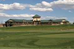 Back view of Clubhouse at Todd Creek Golf Club in Thornton, Colorado.