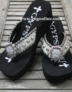 3f12ec73462881 Gypsy Soule Elegance Flip Flops  314.95 www.gugonline.com
