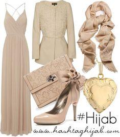 Hijab Fashion 2016/2017: Sélection de looks tendances spécial voilées Look Descreption Hashtag Hijab outfit #172