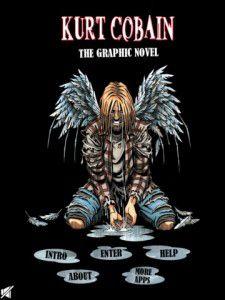 Kurt Cobain Graphic novel book cover