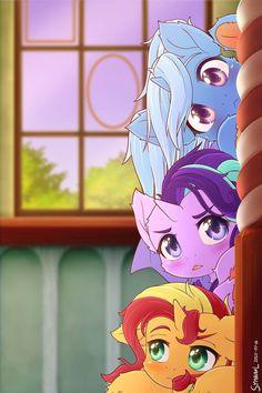 My Little Pony Quiz, My Little Pony Drawing, My Little Pony Cartoon, My Little Pony Pictures, Disney Hogwarts, Imagenes My Little Pony, Little Poni, Mlp Fan Art, Happy Tree Friends