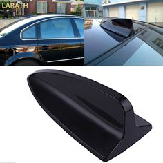 LARATH Auto Antenna Signal Radio Decorative Trim Stick Universal Car Roof Mounted Shark Fin Shaped Strong Signals UV Protected