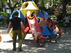 Richard Dattner's Play Cubes, 1976 | Playscapes #playground #playcube