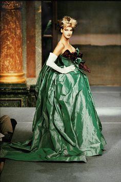 "Vivienne Westwood, Spring/Summer 1996, ""Watteau"" ball gown, silk taffeta"