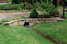 Trendy landscaping driveway ideas entrance Ideas - All For Garden Driveway Culvert, Driveway Entrance Landscaping, Stone Driveway, Driveway Design, Backyard Landscaping, Driveway Ideas, Landscaping Ideas, Driveways, Circular Driveway