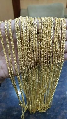 Gold Jewelry In Nepal Code: 2253603494 Kids Gold Jewellery, Gold Jewelry For Sale, Italian Gold Jewelry, Gold Jewelry Simple, Gold Jewellery Design, Gold Chain Design, Gold Bangles Design, Mens Gold Chain Necklace, Gold Mangalsutra Designs