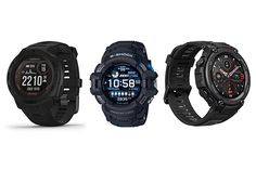 Best Tactical & Military Smartwatches in 2021 Tactical Watch, Army Watches, Casio G Shock, Gps Navigation, Mechanical Watch, Casio Watch, Smart Watch, Military, Smartwatch