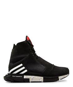 Y-3 Hayex High Black FW14 Fashion Show Sneaker
