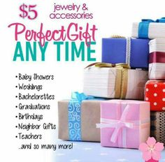 $5 Paparazzi Jewelry and Accessories is a Perfect Gift!