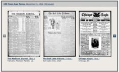 Extensive Collection of Old Newspapers Chronicling America ~ Library of Congress