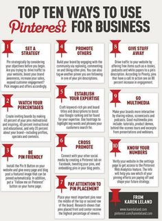 10 Ways to Add Pinterest to Your Marketing Strategy (Infographic) | Support Small Business | Scoop.it