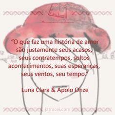 Livro - Luna Clara & Apolo Onze
