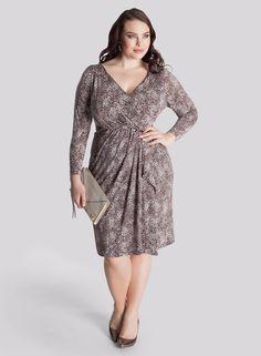 Plus Size Wrap Dress Plus Size Fashion Pinterest