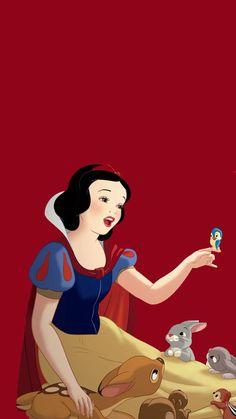 Snow White (Snow White & The Seven Dwarfs) Disney Princess Facts, Disney Fun Facts, Disney Princess Snow White, Snow White Disney, Snow White Art, Disney Phone Wallpaper, Cartoon Wallpaper, Disney Fan Art, Disney Pixar