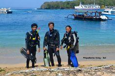 AquaMarine Bali Continue to Support Local Dive Community #scuba #diving #dive #training #divemaster #internship #bali #indonesia