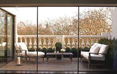 Alex Michelin's luxury duplex penthouse apartment in London by Finchatton