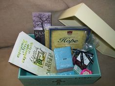 The God box- great idea to use in a variety of women's ministries!